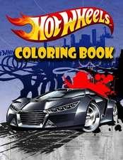 Hotwheels Coloring Book