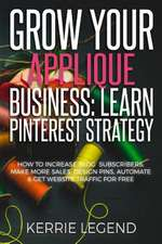 Grow Your Applique Business