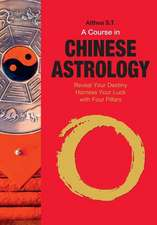 A Course in Chinese Astrology