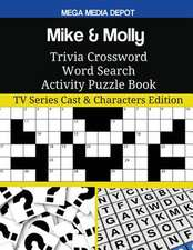 Mike & Molly Trivia Crossword Word Search Activity Puzzle Book
