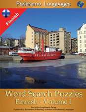 Parleremo Languages Word Search Puzzles Finnish - Volume 1
