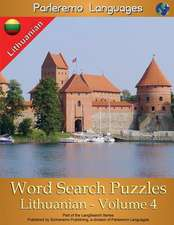 Parleremo Languages Word Search Puzzles Lithuanian - Volume 4