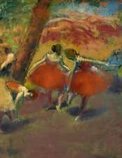 Degas Sketchbook. Before the Performance
