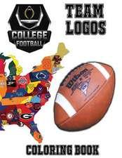 College Football Team Logos Coloring Book
