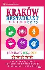Krakow Restaurant Guide 2019