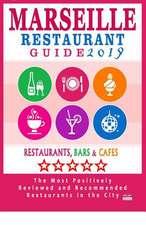 Marseille Restaurant Guide 2019