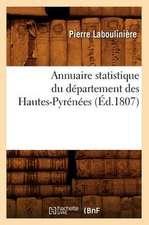 Annuaire Statistique Du Departement Des Hautes-Pyrenees