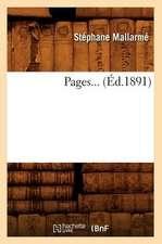 Pages... (Ed.1891):  Avec La Traduction En Francais (Ed.1869)