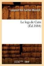 Le Legs de Cain (Ed.1884)