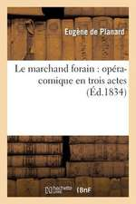 Le Marchand Forain