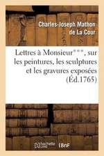 Lettres a Monsieur***, Sur Les Peintures, Les Sculptures Et Les Gravures Exposees Au Sallon