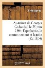Assassinat de Georges Cadoudal, Le 25 Juin 1804, L'Apotheose, Le Couronnement Et La Robe