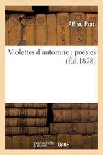 Violettes D'Automne