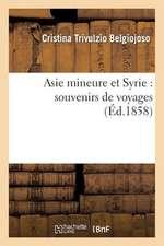 Asie Mineure Et Syrie:  Souvenirs de Voyages