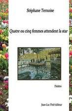 Quatre Ou Cinq Femmes Attendent La Star:  Marine Le Pen En Burqa, Francois Hollande Segolenise, Francois Bayrou Messianise...