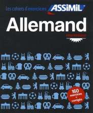 Cahier d'exercices Allemand - Intermediaire