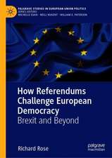 How Referendums Challenge European Democracy : Brexit and Beyond