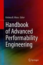 Handbook of Advanced Performability Engineering