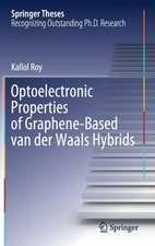 Optoelectronic Properties of Graphene-Based van der Waals Hybrids