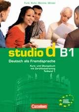 studio d Grundstufe. Teilband 1 des Gesamtbandes 3 (Einheit 1-5)