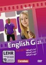 English G 21 Ausgaben A, B und D/4: 8. Schuljahr. What's in? What's on? What's up?
