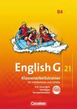 English G 21. Ausgabe B 4. Klassenarbeitstrainer mit Lösungen und Audios online