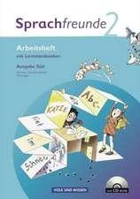 Sprachfreunde 2. Schuljahr. Arbeitsheft und CD-ROM. Ausgabe Süd (Sachsen, Sachsen-Anhalt, Thüringen)