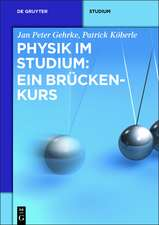 Physik im Studium: Ein Brückenkurs