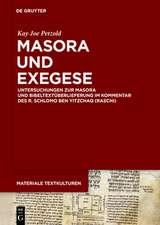 Masora und Exegese