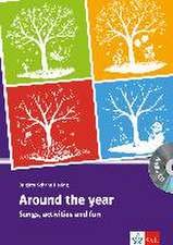 Around the year 2 / Around the year A1. Klasse 8-10. Buch mit Kopiervorlagen + Audio-CD