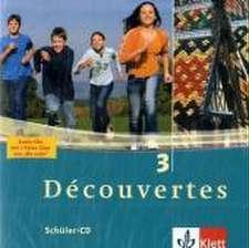 Découvertes 3. Schüler-CD