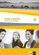 Línea amarilla 4. Spanisch als 2. Fremdsprache. Arbeitsheft mit Audio-CD