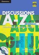 Discussions A - Z. Book + Audio-CD (Intermediate)