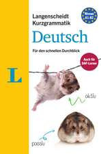 Langenscheidt Kurzgrammatik Deutsch - Buch mit Download