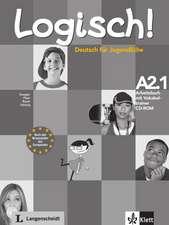 Logisch! Arbeitsbuch A2.1 mit Vokabeltrainer CD-ROM