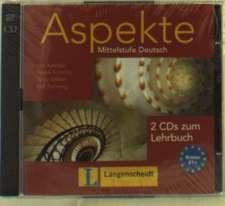 Aspekte 1 (B1+) - 2 Audio-CDs zum Lehrbuch 1