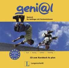 geni@l A1 plus - Audio-CD zum Kursbuch