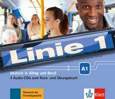 Linie 1 A1, 4 Audio-CDs zum Kurs- und Übungsbuch
