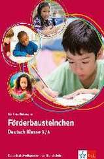 Förderbausteinchen Deutsch Klasse 3/4