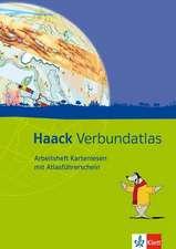 Haack Verbundatlas. Arbeitsheft Kartenlesen mit Atlasführerschein. Klasse 5