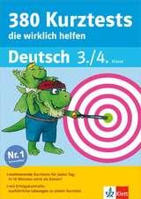 380 Kurztests, die wirklich helfen Deutsch 3./4. Klasse