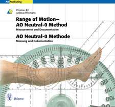 Range of Motion - AO Neutral-0 Method: Measurement and Documentation, Book & CD-ROM