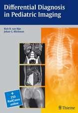 Differential Diagnosis in Pediatric Imaging