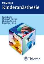 Memorix Kinderanästhesie