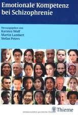 Emotionale Kompetenz bei schizophrenen Patienten