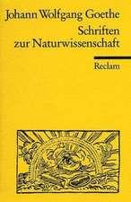 Schriften zur Naturwissenschaft