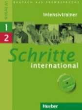 Schritte international 1+2. Intensivtrainer mit Audio-CD