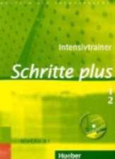 Schritte plus 1 + 2. Intensivtrainer mit Audio-CD