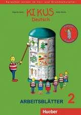KIKUS Deutsch. Arbeitsblätter 2