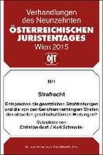 19. Österreichischer Juristentag 2015 Strafrecht